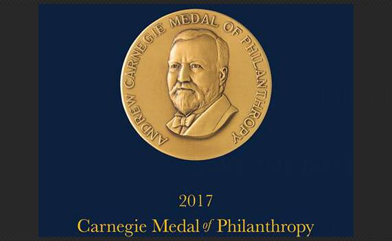 Announcing the 2017 Carnegie Medal of Philanthropy Recipients